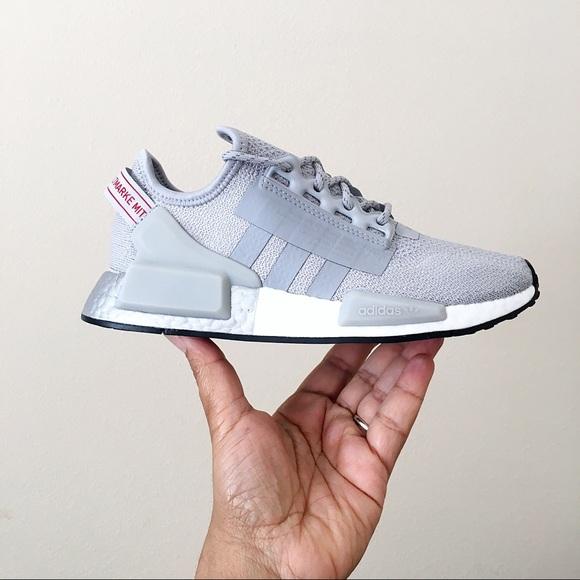 nmd r1 v2 grey silver